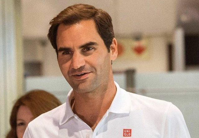 Roger Federer: The more you earn, the more you give.