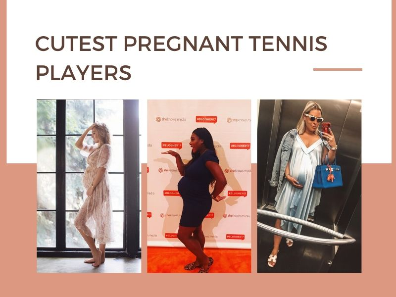 Cutest pregnant tennis players