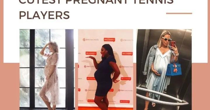 Cutest pregnant tennis players