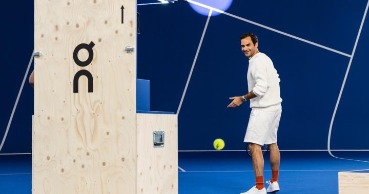 Roger Federer: My sneakers are not sports shoes.