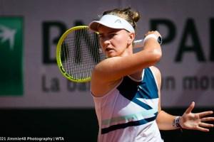 Barbora Krejcikova: The first set was very important