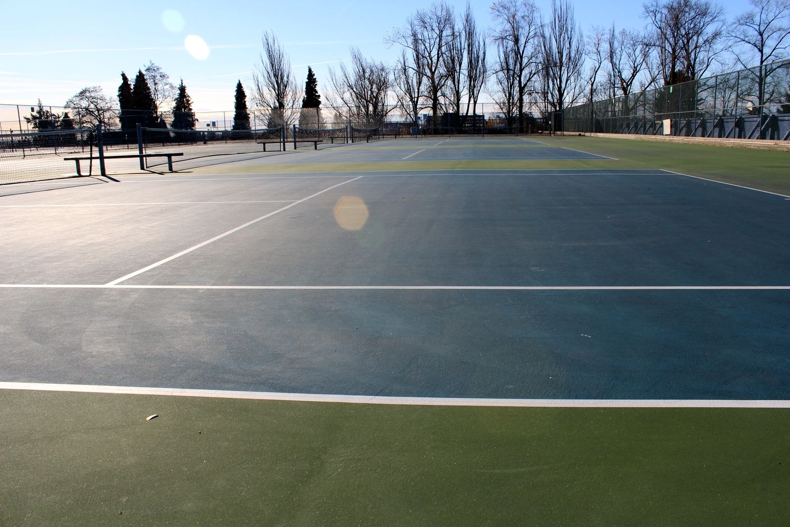 The Courts Are A Very Popular Place To Play And Home Of Queen Elizabeth Park Tennis Club