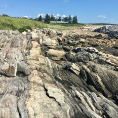 Rocks at Reid State Park
