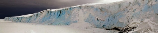 Barne Glacier panoramic, Ross Island (Nov 2011)