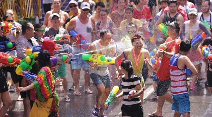 Songkran around Thailand - where can you get wet in 2020? | News by The Thaiger