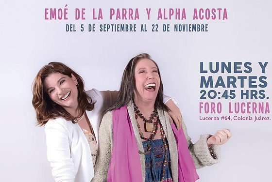 """Mamá te voy a demandar"" (Mother, I'm Going to Sue You) at Teatro Milan"