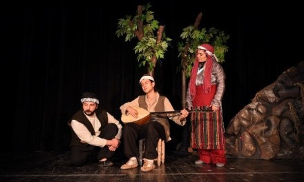 Life Of Blind Turkish Bard On Theater Stage