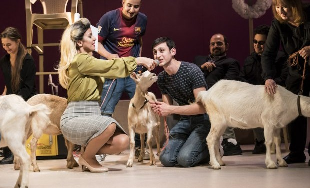 """""""Goats"""" by Syrian Playwright Liwaa Yazjiat at The Royal Court"""