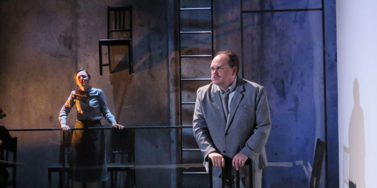 """Love, Death And Soviet Spies: Boston Playwrights' Theatre Stages Its First Opera, """"The Rosenbergs"""""""