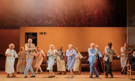 """Allelujah!"" at The Bridge Theatre"