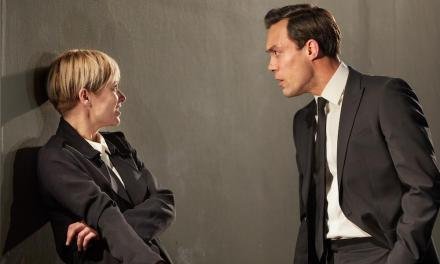 """David Hare's """"I'm Not Running"""" At The National Theatre"""