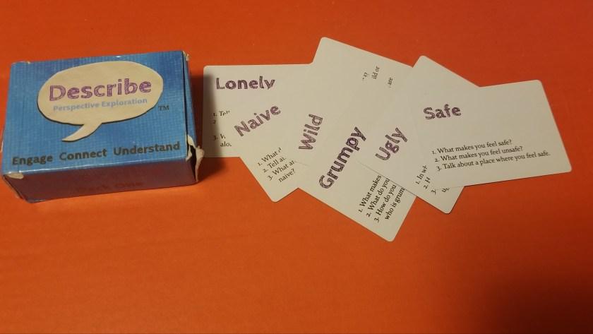 Describe Cards review
