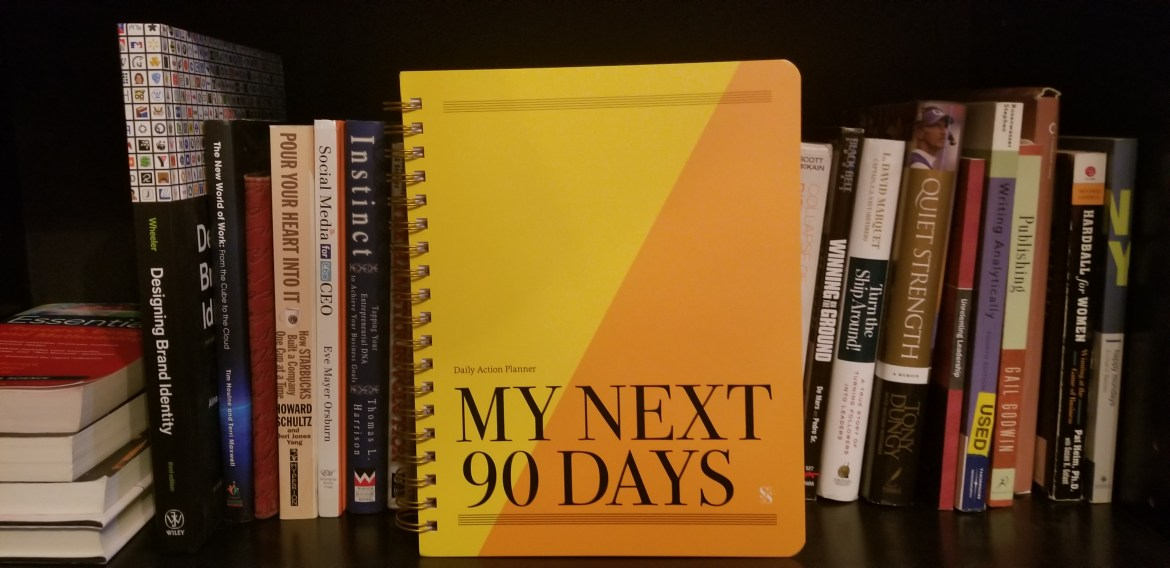 My Next 90 Days Daily Action Planner