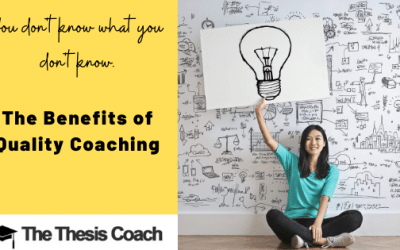 The Benefits of Quality Coaching