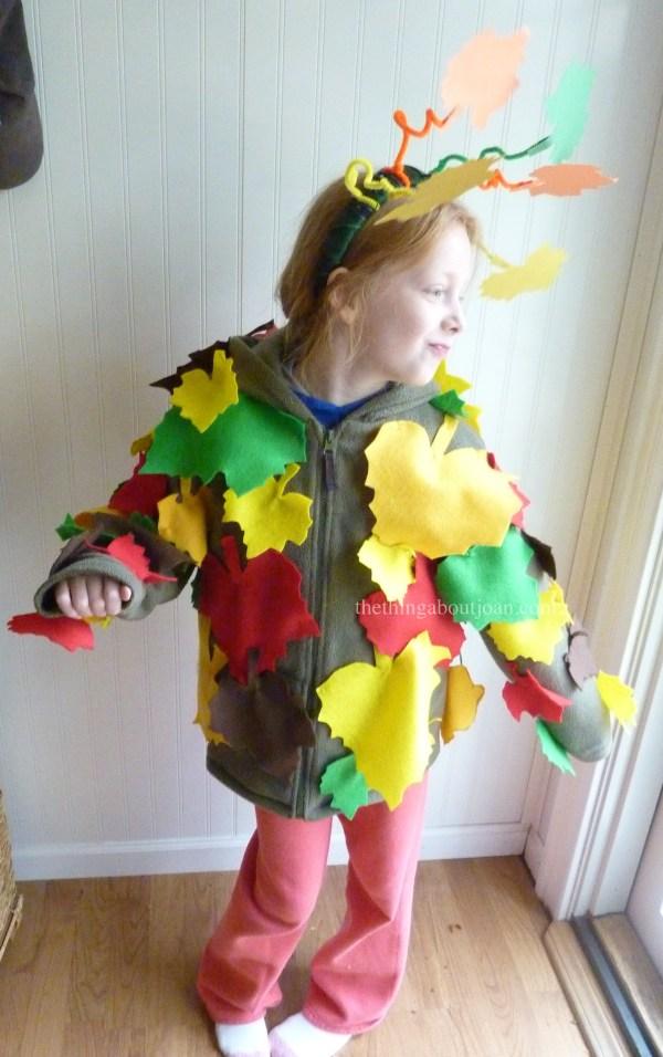 Make Tree Diy Costume Joan