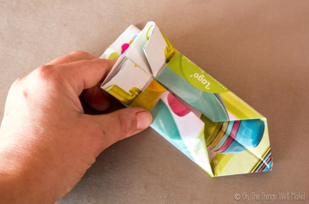 Quick Diy Origami Flower Pots From Recycled Newspaper Oh The Things We Ll Make