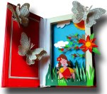 reading-girl-shadow-box-papercut_5583184492_o