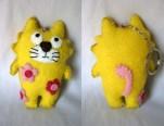 yellow-cat-keyring_5583225046_o