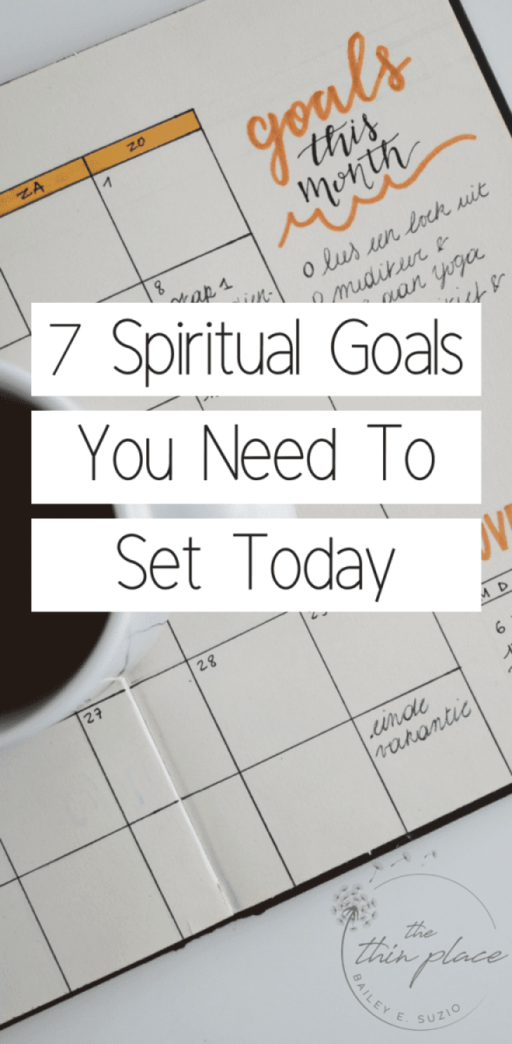 Spiritual Goals You Need to Start Setting #goals #faith #christianlife #christianwoman #christianity