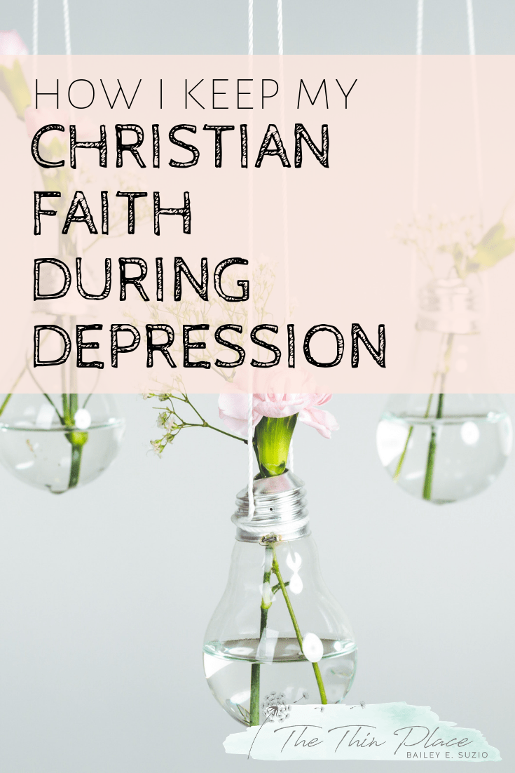 Depression sinks into my heart and mind, it pops up at unexpected times. It tries to make me believe that nothing matters, that my life is pointless, and that the state of this world will have the final say. But none of that is true. #Christianity #christian #depression #Jesus #christianlife #biblestudy