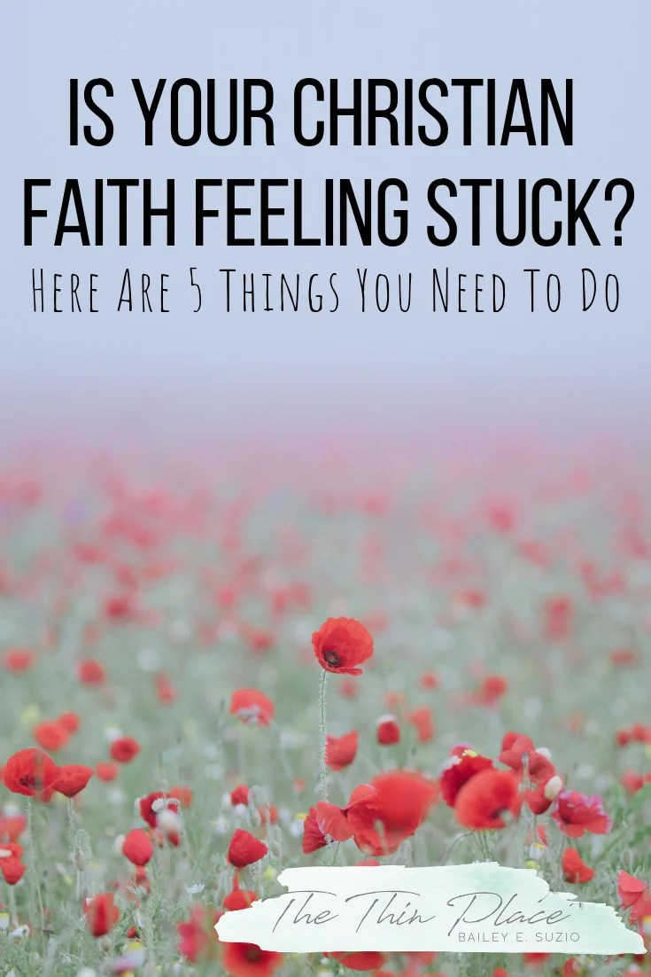 Feeling apathetic about your Christian faith? Here are 5 things you need to do today! #devotional #biblestudy #faith #christian #prayer #church