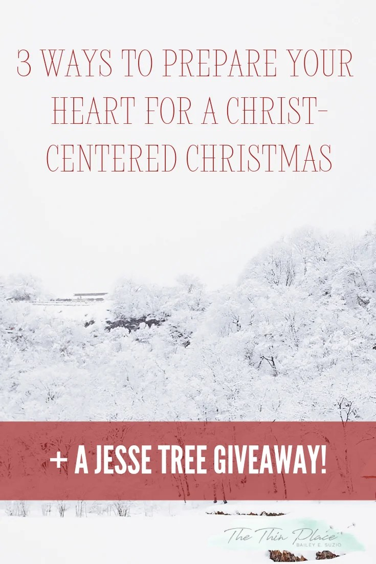 Using the Jesse Tree to Prepare Your Heart for a Christ-Centered Christmas #jessetree #familydevotional #christmast #advent #christcenteredchristmas