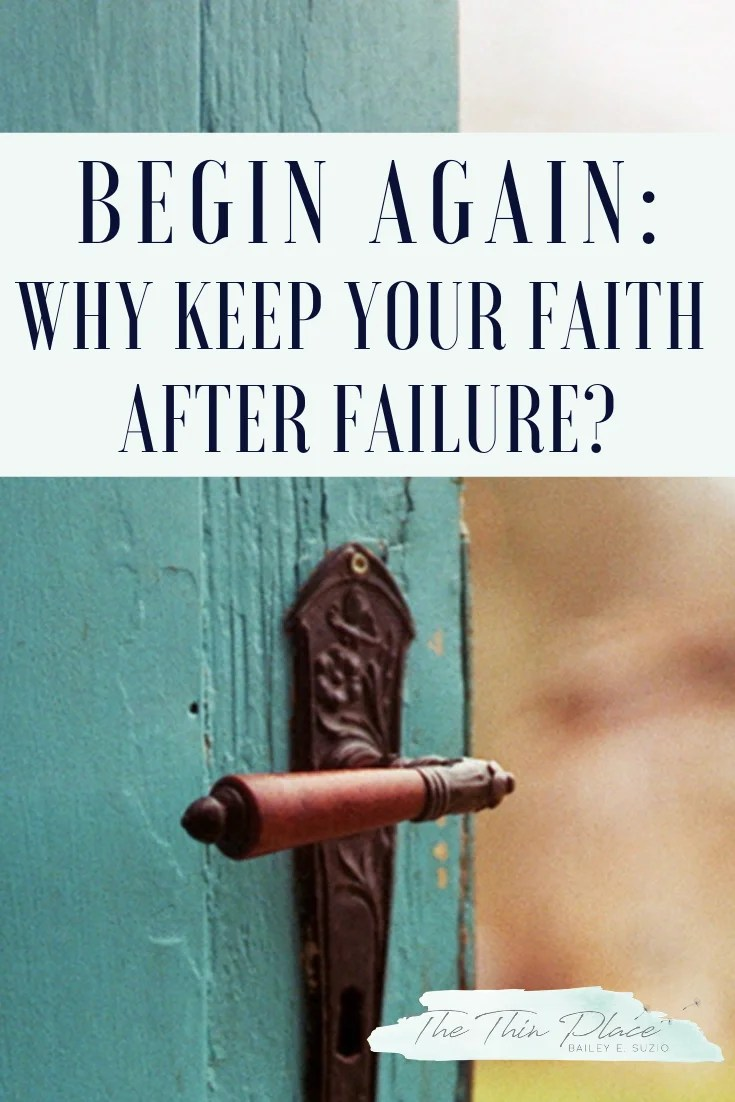 Missing the Mark in Your Christian Walk: How to Keep the Faith When You Feel Like You're Constantly Falling Short #devotional #christianlife #christianity#christianwomen #christianencouragement