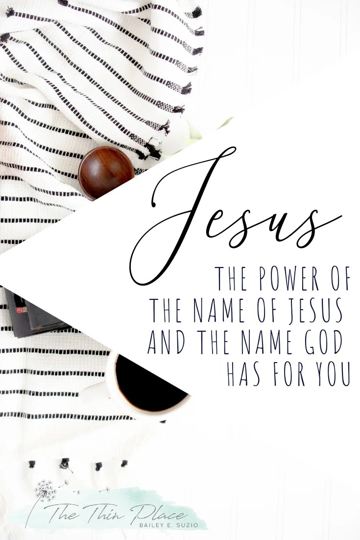 The Holy Name of Jesus and the Significance of Names in the Bible #names #Jesus #devotional #christmastide #christmas