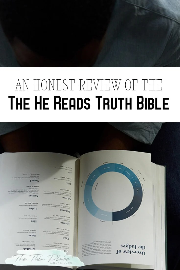 Enter for your chance to win a copy of the He Read Truth Bible! The perfect gift for the Christian man in your life. HeReadsTruthL3 #Bible #GiftsforMen