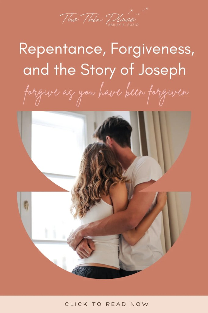 It is hard to forgive and hard to comprehend God's forgiveness for us. But the story of Joseph has good reminders for both and a call to forgive as we've been forgiven. #forgiveness #biblestudy #devotional #christiandevotional #christianwomen #faith #godslove