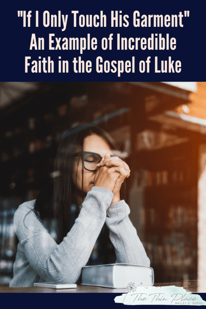 In the Gospel of Luke, this woman's story is an incredible example of remarkable faith in Jesus #womenintheword #christianwoman #godlywoman#devotional #christianliving #womanoffaith #womanofgod