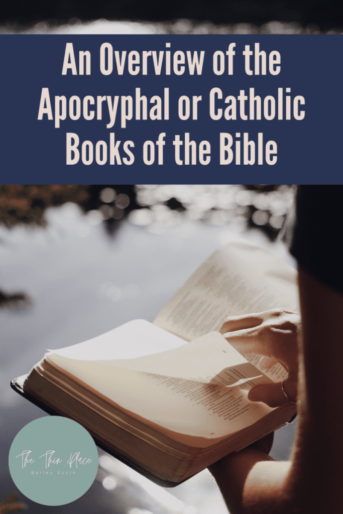 """Why do Catholic and Orthodox Christians have 7 extra books in their Bible? Here's a quick overview on the 7 books of the """"Apocrypha"""" and what the early Protestant Reformers thought of them! #biblestudy #ChurchHistory #Apocrypha #BibleTime #ChristianLiving"""