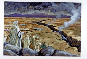 They dared to attribute His judgments to Satan, declaring that through the power of the evil one, Moses and Aaron had caused the death of good and holy men. It was this act that sealed their doom. They had committed the sin against the Holy Spirit.