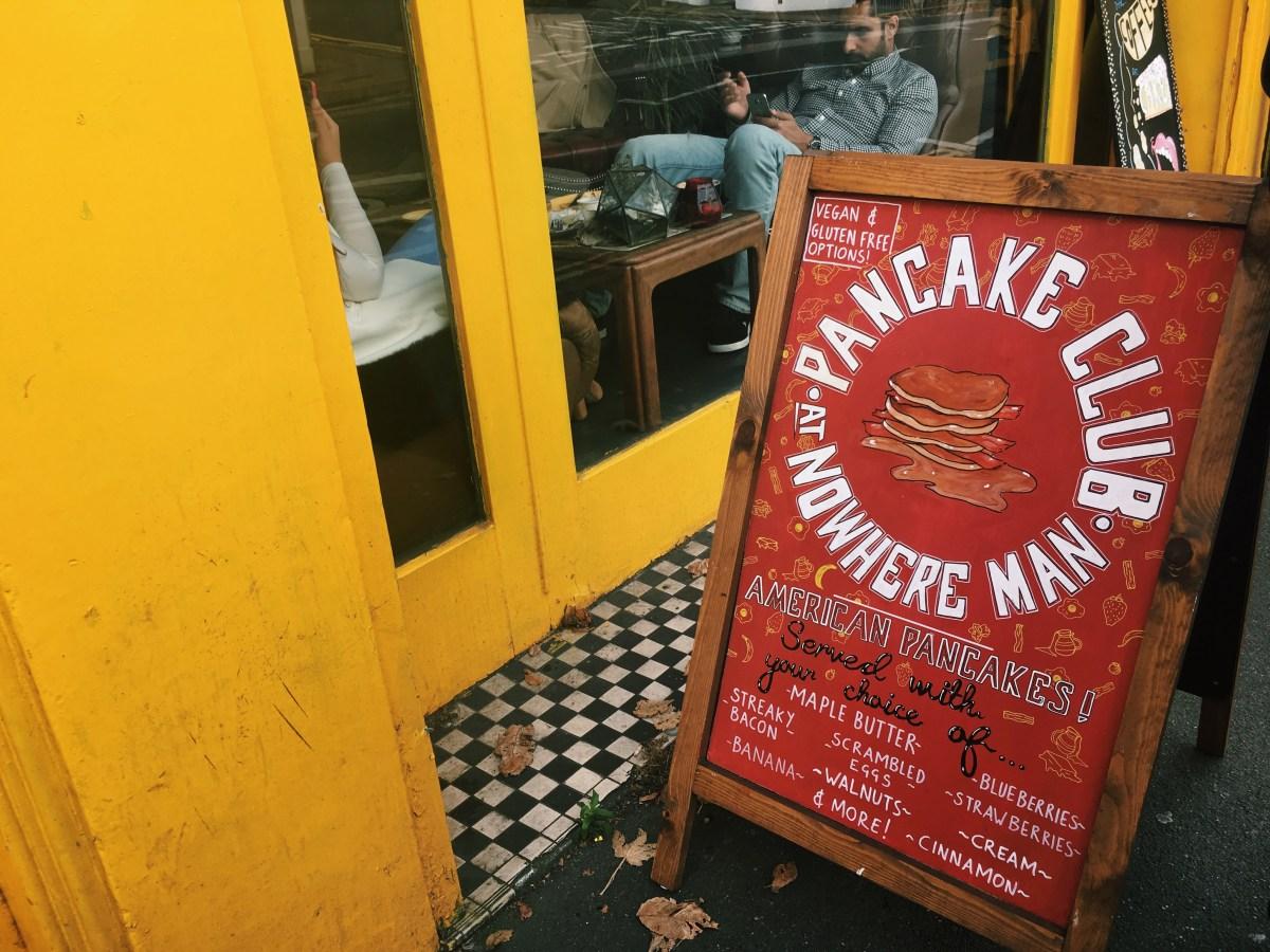 Pancake Club at Nowhere Man