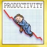 down productiviyt