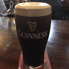 Guinness tastes best at a haunted pub. Kehoe's, in this case.