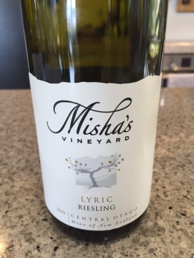 Misha's Lyric Riesling by The Thirsty Kitten