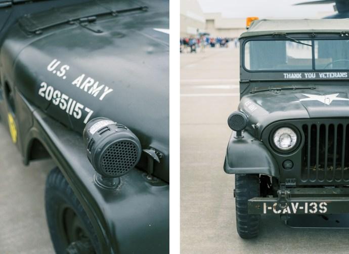 Wichita Air Show Army Jeep