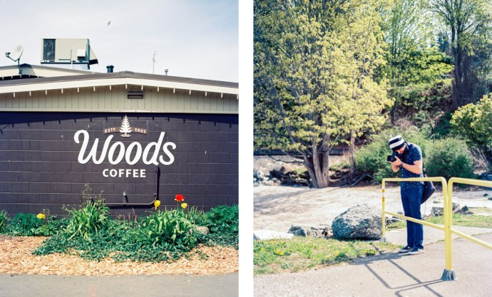 Boulevard Park The Woods Coffee Bellingham Washington