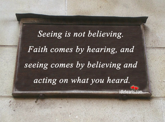 Seeing Is Not Believing >> Seeing But Not Believing