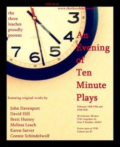 Ten Minute Plays