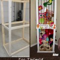 Cute stuffed animal storage and organization diy idea stuffed animal