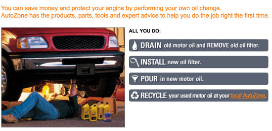 Autozone diy oil change deals poemsrom we can ship oil filters and in a lined box that doubles as drain pan for autozone diy oil change solutioingenieria Images
