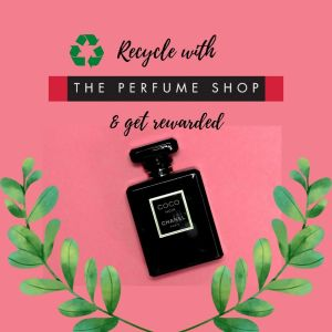 Recycle empty bottles with the perfume shop- the thrifty island girl