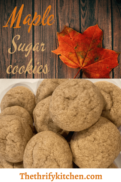 Maple sugar cookie PIN