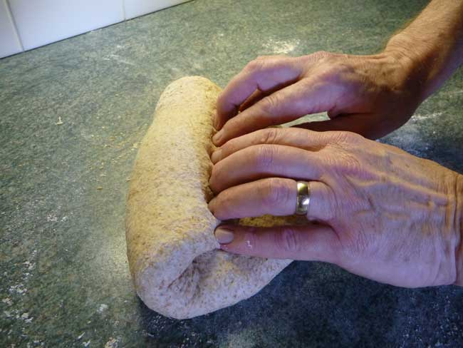 shape dough