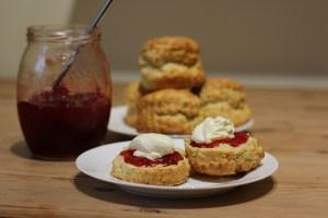 great British scones