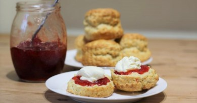 super easy scones recipe