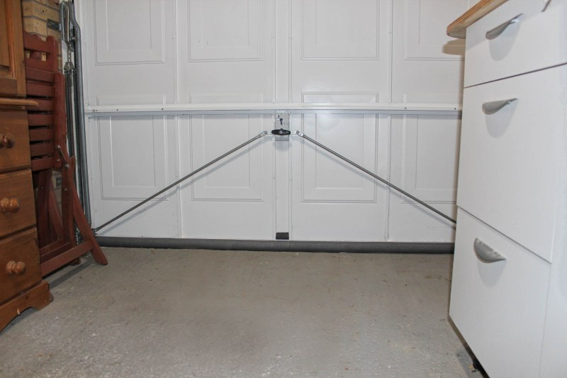 draught proof your garage door