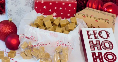 handmade Christmas fudge recipe